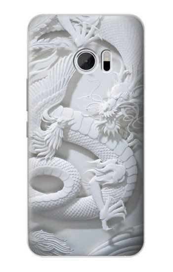 Printed Dragon Carving HTC 10 Case