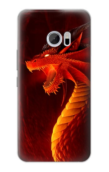 Printed Red Dragon HTC 10 Case