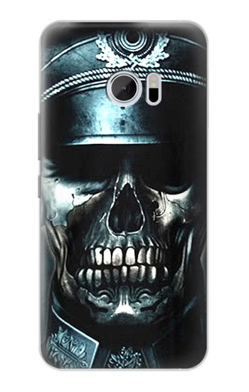 Printed Skull Soldier Zombie HTC 10 Case