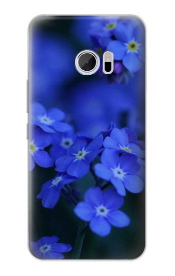 Printed Forget me not HTC 10 Case