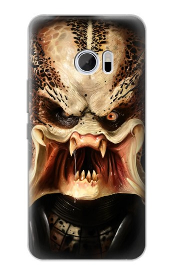 Printed Predator Face HTC 10 Case