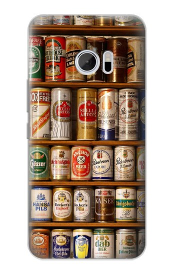 Printed Beer Cans Collection HTC 10 Case