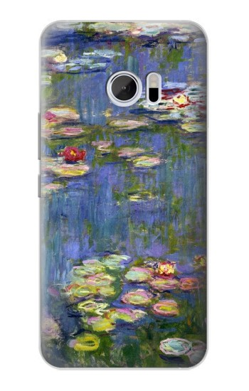 Printed Claude Monet Water Lilies HTC 10 Case