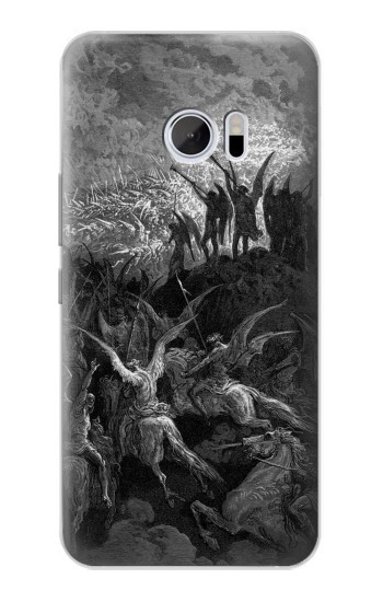 Printed Gustave Dore Paradise Lost HTC 10 Case