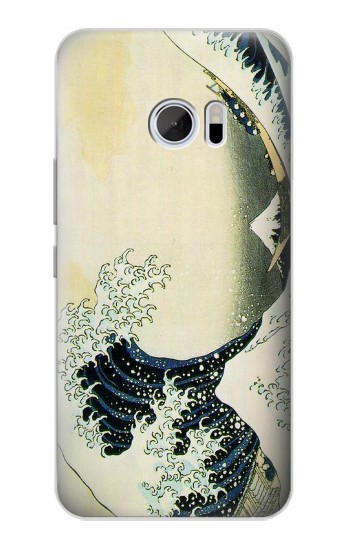 Printed Katsushika Hokusai The Great Wave of Kanagawa HTC 10 Case