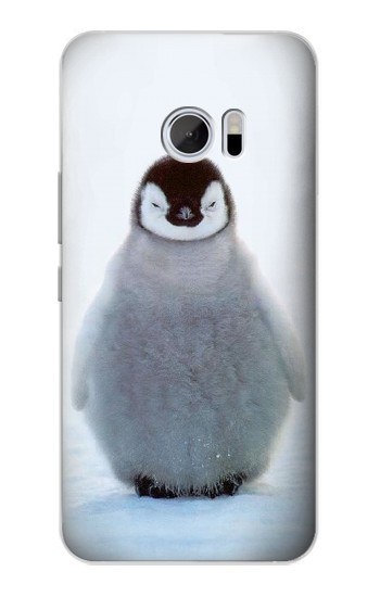Printed Penguin Ice HTC 10 Case