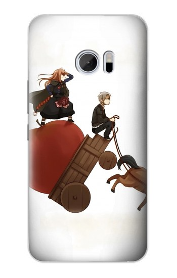 Printed Spice and Wolf Horo Lawrence HTC 10 Case