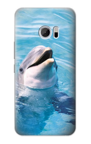 Printed Dolphin HTC 10 Case