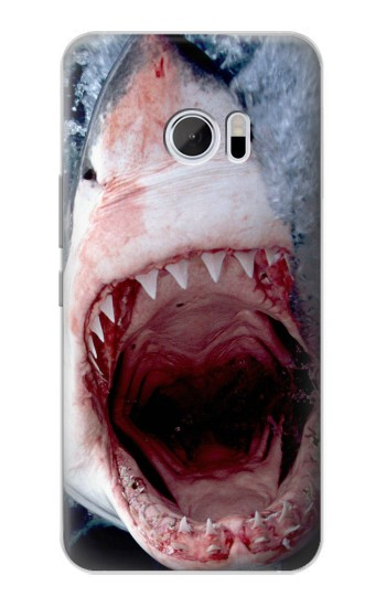 Printed Jaws Shark Mouth HTC 10 Case