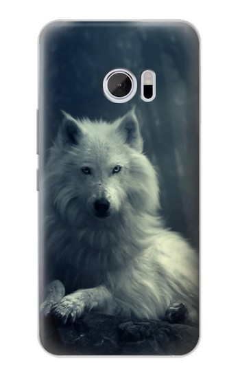 Printed White Wolf HTC 10 Case