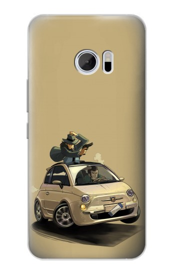 Printed Lupin The Third HTC 10 Case