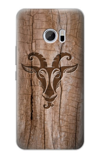 Printed Goat Wood Graphic Printed HTC 10 Case