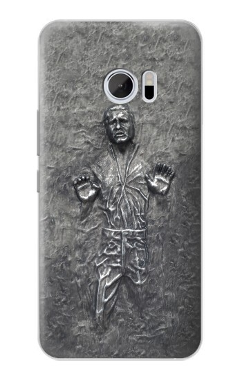 Printed Han Solo in Carbonite HTC 10 Case
