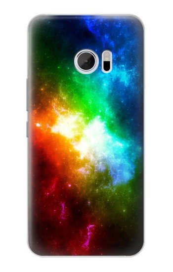 Printed Colorful Rainbow Space Galaxy HTC 10 Case