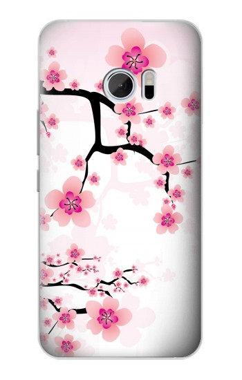 Printed Plum Blossom HTC 10 Case