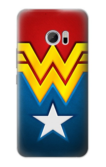 Printed Wonder Women Logo HTC 10 Case