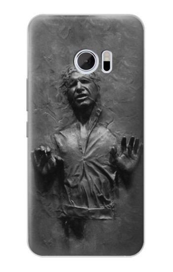 Printed Han Solo Frozen in Carbonite HTC 10 Case