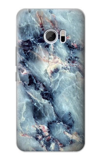 Printed Blue Marble Texture HTC 10 Case