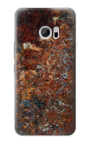 Printed Rust Steel Texture HTC 10 Case