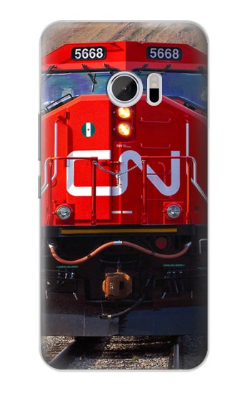 Printed Train Canadian National Railway HTC 10 Case