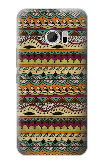 Printed Aztec Boho Hippie Pattern HTC 10 Case