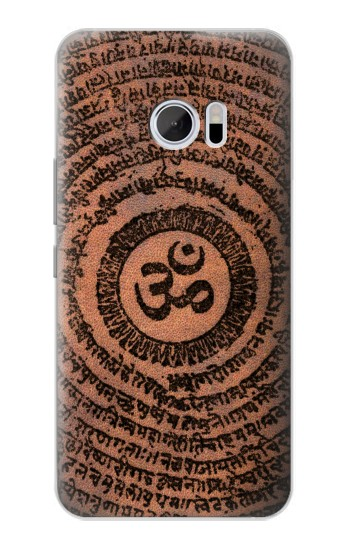 Printed Sak Yant Ohm Symbol Tattoo HTC 10 Case