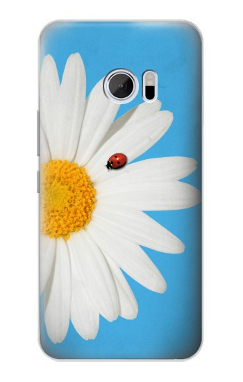 Printed Vintage Daisy Lady Bug HTC 10 Case