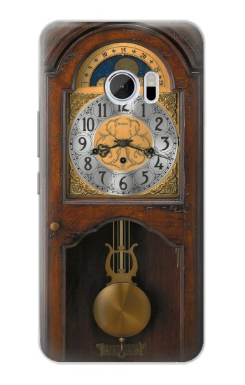 Printed Grandfather Clock Antique Wall Clock HTC 10 Case
