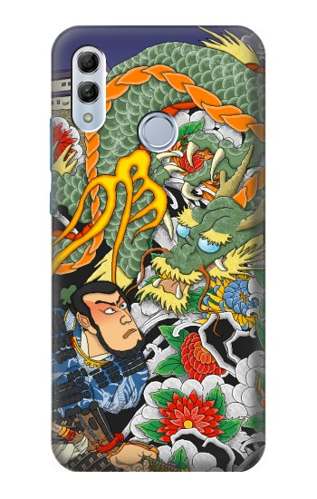 Printed Japan Tattoo Huawei Honor 10 Lite Case