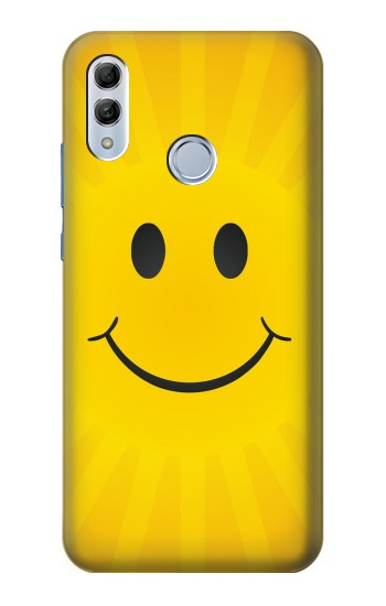 Printed Yellow Sun Smile Huawei Honor 10 Lite Case