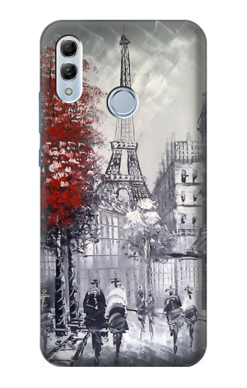 Printed Eiffel Painting of Paris Huawei Honor 10 Lite Case