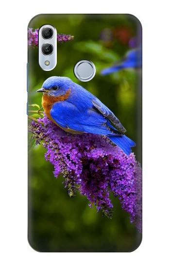 Printed Bluebird of Happiness Blue Bird Huawei Honor 10 Lite Case