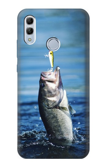 Printed Bass Fishing Huawei Honor 10 Lite Case