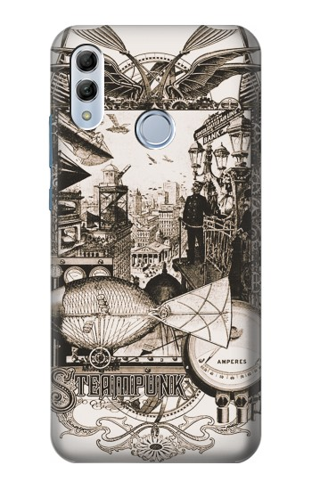 Printed Steampunk Drawing Huawei Honor 10 Lite Case
