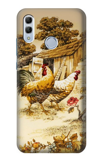 Printed French Country Chicken Huawei Honor 10 Lite Case