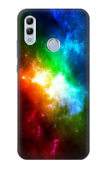 Printed Colorful Rainbow Space Galaxy Huawei Honor 10 Lite Case