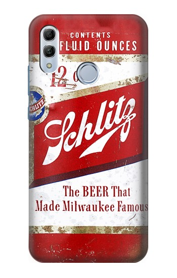 Printed Vintage Schlitz Beer Can Huawei Honor 10 Lite Case