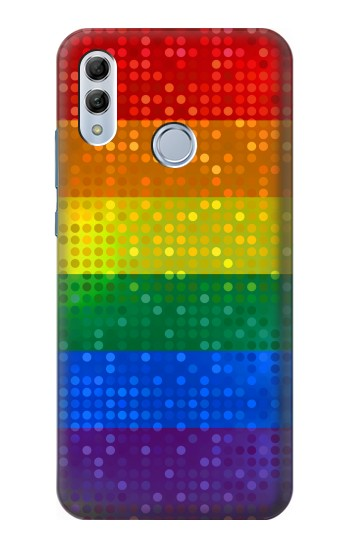 Printed Rainbow Gay LGBT Pride Flag Huawei Honor 10 Lite Case