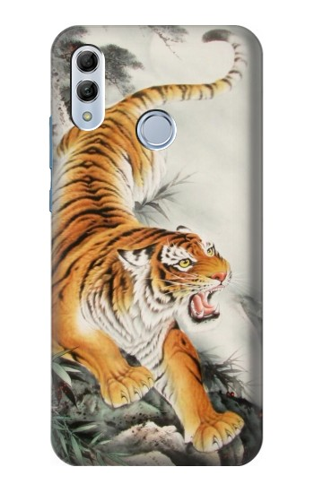 Printed Chinese Tiger Tattoo Painting Huawei Honor 10 Lite Case