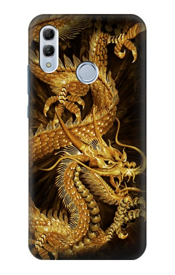 Printed Chinese Gold Dragon Printed Huawei Honor 10 Lite Case