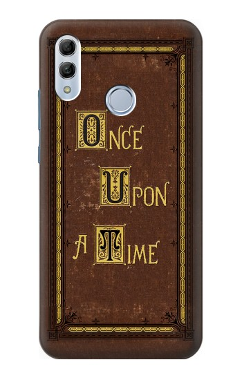 Printed Once Upon a Time Book Cover Huawei Honor 10 Lite Case
