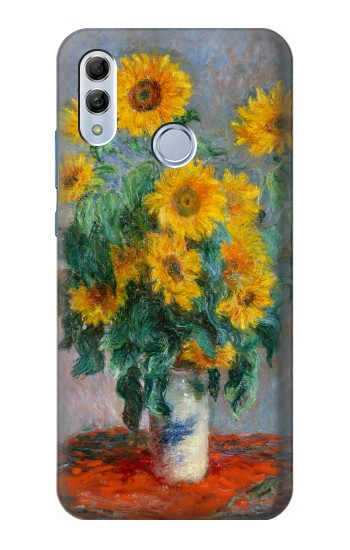 Printed Claude Monet Bouquet of Sunflowers Huawei Honor 10 Lite Case