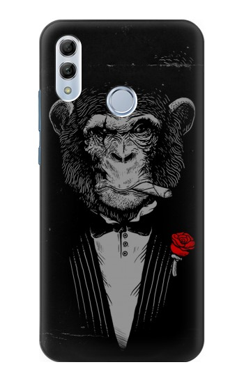 Printed Funny Monkey God Father Huawei Honor 10 Lite Case