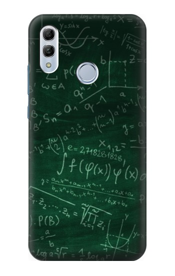 Printed Math Formula Greenboard Huawei Honor 10 Lite Case