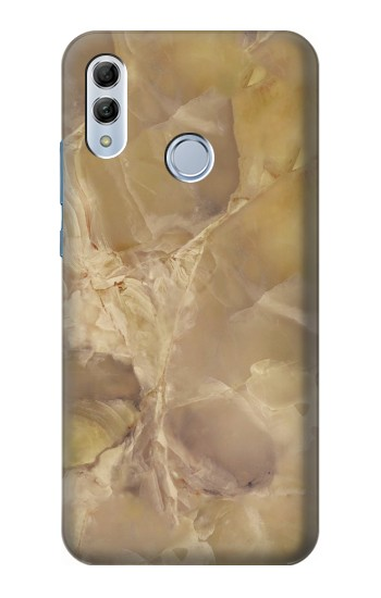 Printed Yellow Marble Stone Huawei Honor 10 Lite Case