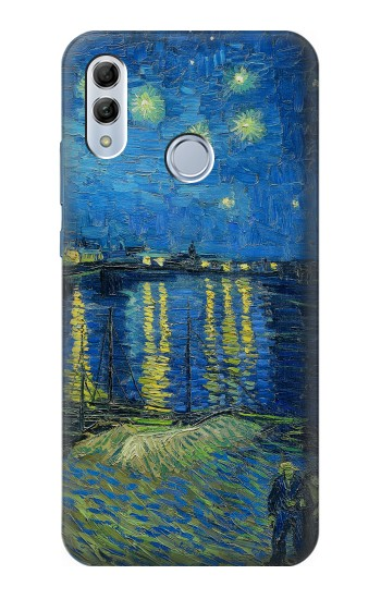 Printed Van Gogh Starry Night Over Rhone Huawei Honor 10 Lite Case