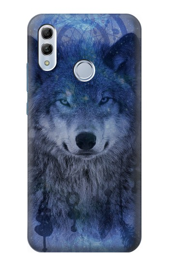 Printed Wolf Dream Catcher Huawei Honor 10 Lite Case