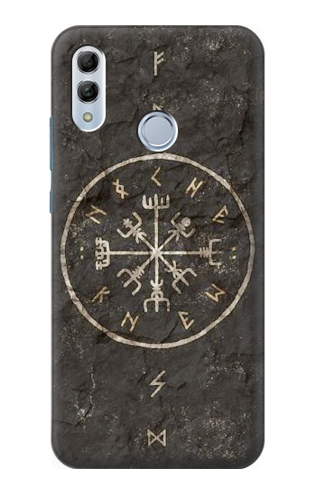 Printed Norse Ancient Viking Symbol Huawei Honor 10 Lite Case