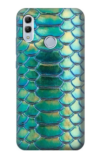 Printed Green Snake Scale Graphic Print Huawei Honor 10 Lite Case