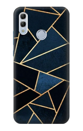Printed Navy Blue Graphic Art Huawei Honor 10 Lite Case